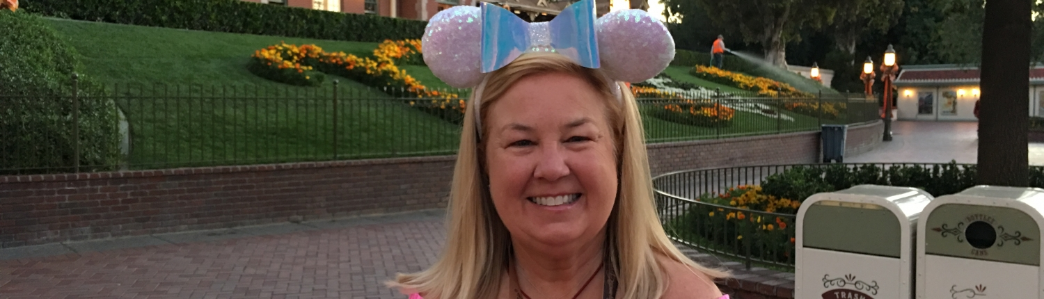 Margaret At Disneyland