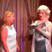 Meeting Elsa At Walt Disney World
