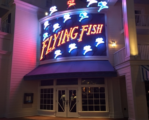 Walt Disney World Flying Fish Restaurant