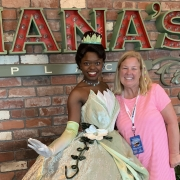 Margaret and Princess Tiana