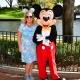 Meeting Mickey Mouse at Walt Disney World