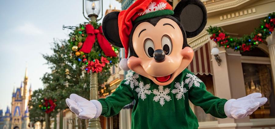 Walt Disney World Resort Holidays Start November 6