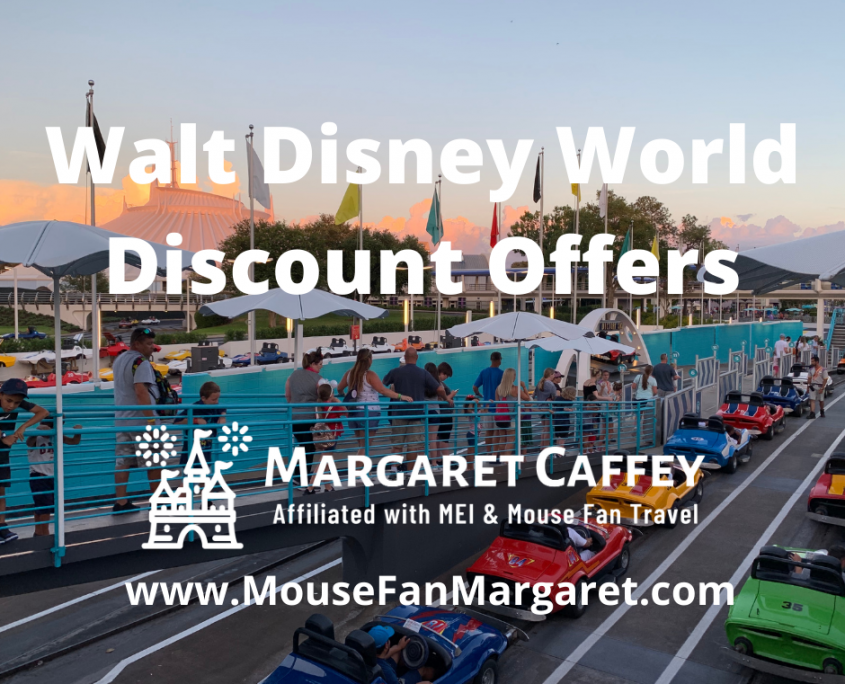 Walt Disney World Discount Offers for Spring, Summer and Early Fall 2021
