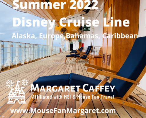 Disney Cruise Line Summer 2022 Itineraries