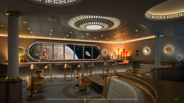 Disney Cruise Line Star Wars Bar