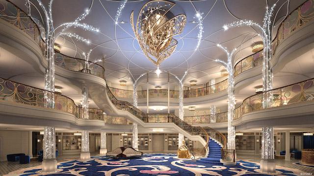 A Sneak Peek at Disney Cruise Line's New Disney Wish
