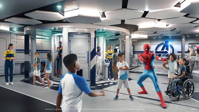 Disney Wish Marvel Kids Club