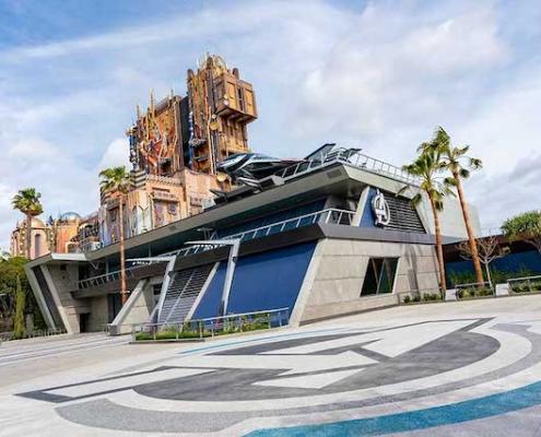 Marvel Avengers Campus Disneyland