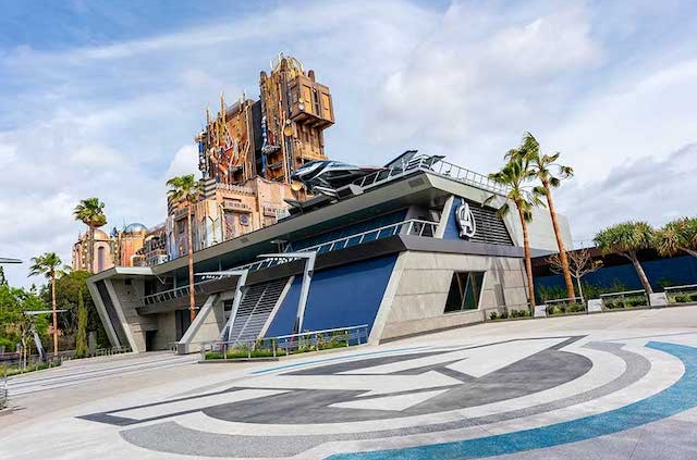 Marvel Avengers Campus Disneyland