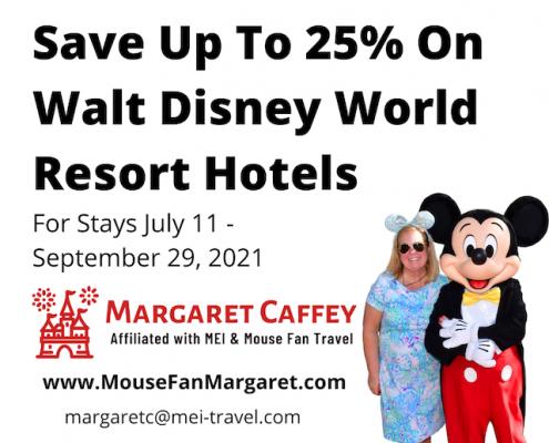 New Walt Disney World Discount Offer for Summer 2021