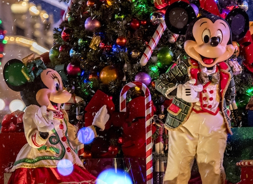 Walt Disney World Christmas Party